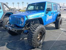jeep honcho stepside every jeep on the front lot at sema show 2017 quadratec