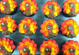 thanksgiving cup cakes lola pearl bake shoppe gobble gobble turkey cupcakes