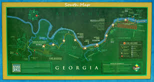 Chattahoochee River Map Department Of Parks And Recreation Columbus Ga