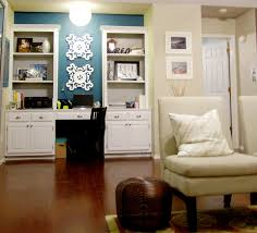 painting built in bookcases remodelaholic updating a built in desk with paint and decor