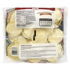 meijer jumbo round cheese ravioli 24 oz meijer com