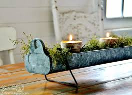 repurposed christmas candle holder centerpieces knick of time