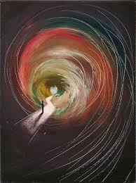 Seeking Painting Seeking Freedom Painting By Penelope Constantinou