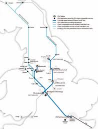 Leicester England Map by High Speed 2 Second Phase Route Unveiled News Construction News