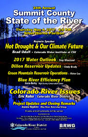 Lower Colorado Water Supply Outlook January 1 2016 State Of The River Meetings Recap Colorado River District