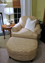 how to slipcover a chair goodbye house hello home armchair and ottoman slipcover