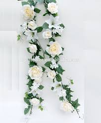 cheap artificial flowers cheap silk flower garland artificial and garland wedding