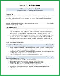 Nursing Resume Examples With Clinical Experience by Resume Objective Examples Nursing Student Resume Ixiplay Free