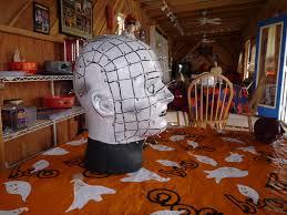 how to make giant bloodshot eye halloween decor tos diy decoration