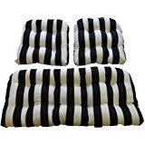 amazon com indoor outdoor black and white stripe universal