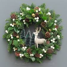 fresh wreaths winter fresh christmas wreath magical christmas wreaths