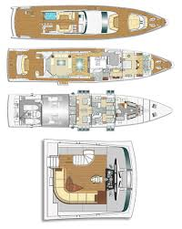 Yacht Floor Plan by Majesty 122 Megayacht Deck Plans Superyacht Collection By Gulf Craft