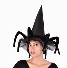 halloween witches hats for girls creative black spider hats