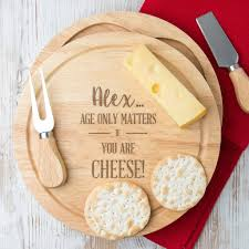 engraved cheese board personalised cheese boards and knives notonthehighstreet
