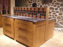 cuisine en bois frene ilot de cuisine la beauté du bois