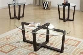 glass coffee table set of 3 glass coffee table set of 3 dark wood frame coffee tables set with