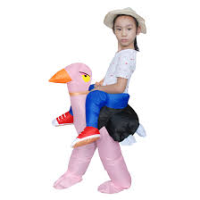 carnaval costumes for kids halloween cosplay inflatable ostrich