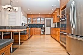 eco friendly kitchen cabinets kitchen contemporary with banquette