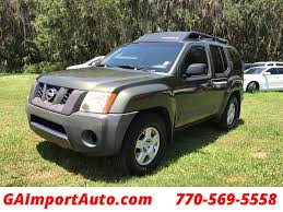 2005 used nissan xterra 4dr s 2wd v6 automatic at georgia import