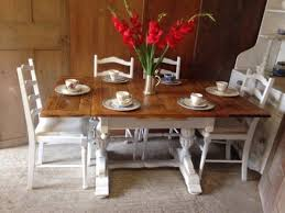 Shabby Chic Kitchen Table by 10 Best Stunning Reclaimed 7 U0027 Rustic Farmhouse Pine Kitchen Table