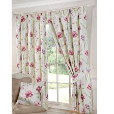 Floral Lined Curtains Buy Ellie Pencil Pleat Curtains Home Focus At Hickeys