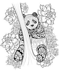 printable coloring pages zentangle new zentangle panda coloring sheet printable coloring free
