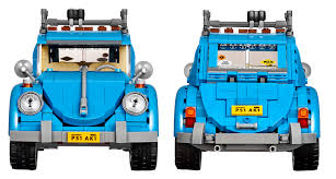 volkswagen hippie van front lego updates the bug with the all new 10252 volkswagen beetle
