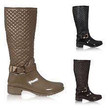 womens wellington boots size 9 s zip wellington boots ebay