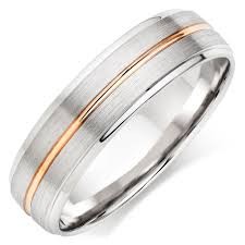 white gold wedding ring 9ct white gold and gold men s wedding ring 0010669