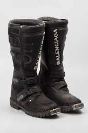dirt bike racing boots balenciaga 2017 spring summer motorcycle boots hypebeast