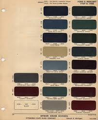 1939 40 ford color chip selection auto art pinterest chips