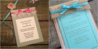 Wedding Programs With Ribbon Rustic Wedding Invitations Rustic Country Wedding Invites And Ideas