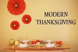 a modern thanksgiving honeysuckle