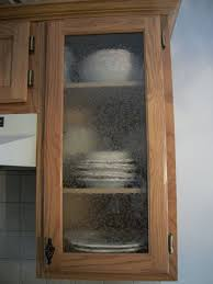 convert a kitchen cabinet inserts of doors glass decorative