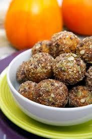 chocolate chip pumpkin protein balls popsugar fitness