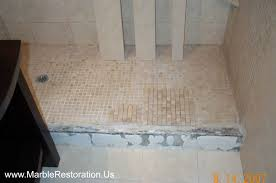 shower threshold replacement