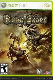 runescape for android runescape xbox 360 box cover by demonlord555