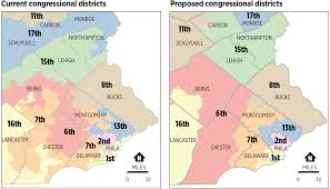 Philadelphia Pa Map Top Republicans In Pa House Senate Submit Congressional Map To