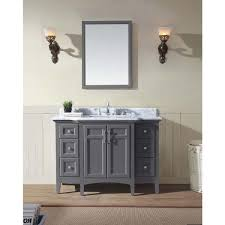 Maple Bathroom Vanity by Ari Kitchen And Bath Luz 48