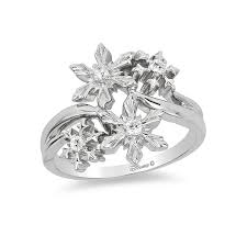 snowflake engagement ring enchanted disney elsa 5 8 ct t w snowflake engagement ring in