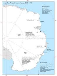 Map Of Antarctica Australian Antarctic Science Season 2009 10 U2014 Australian Antarctic