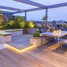 Roof Terraces Gardens By Contemporary London Designers - Home terrace design