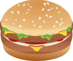 clipart hamburger burger remix with colors