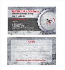 concrete business cards home builder business card designs