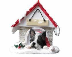 boston terrier ornament etsy