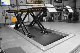 class 7 mot bay scissor lift lifting equipment crypton technology