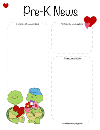 the crafty teacher pre k valentine u0027s day february newsletter