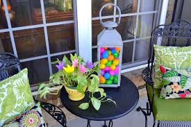 Outdoor Easter Decorations For The Home by My Front Porch All Decked Out For Easter Worthing Court