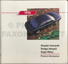 1993 chrysler concorde dodge intrepid eagle vision repair shop