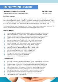 Best Resume Sample For Nurses by Best Resume For Nurses Resume Sample For Graduate Nurse Nurse